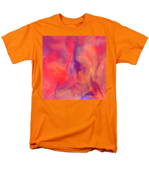 Mother And Daughter Abstract Men's T-Shirt  (Regular Fit) by Sherri's Of Palm Springs