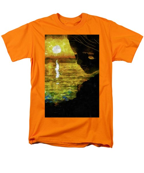 Men's T-Shirt  (Regular Fit) featuring the photograph Mother Earth Watching by Joseph Hollingsworth