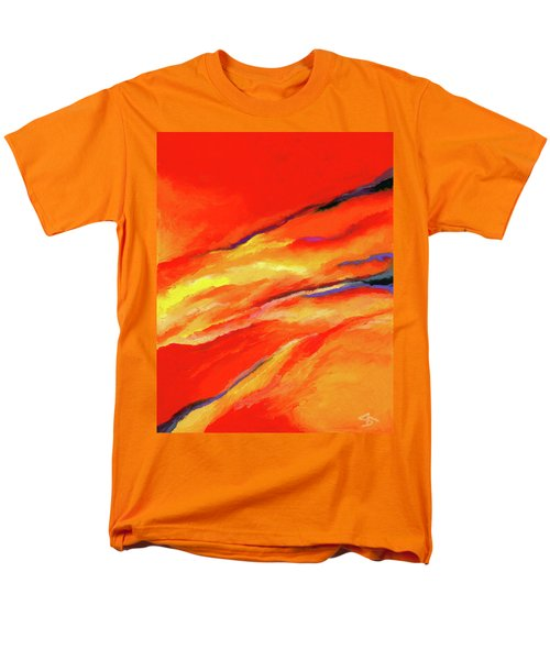 Men's T-Shirt  (Regular Fit) featuring the painting Motivation by Stephen Anderson