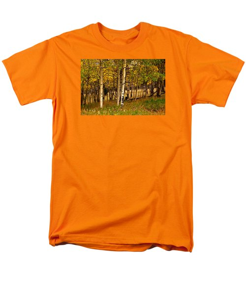 Men's T-Shirt  (Regular Fit) featuring the photograph Mountain Meadow by Laura Ragland