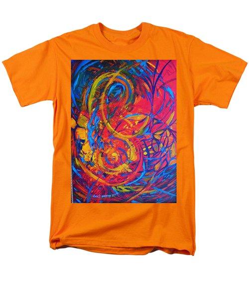 Music Men's T-Shirt  (Regular Fit) by Jeanette Jarmon