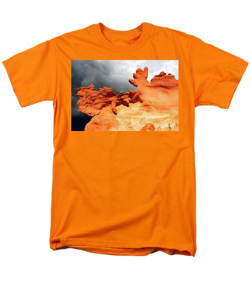 Men's T-Shirt  (Regular Fit) featuring the photograph Nature's Artistry Nevada 2 by Bob Christopher