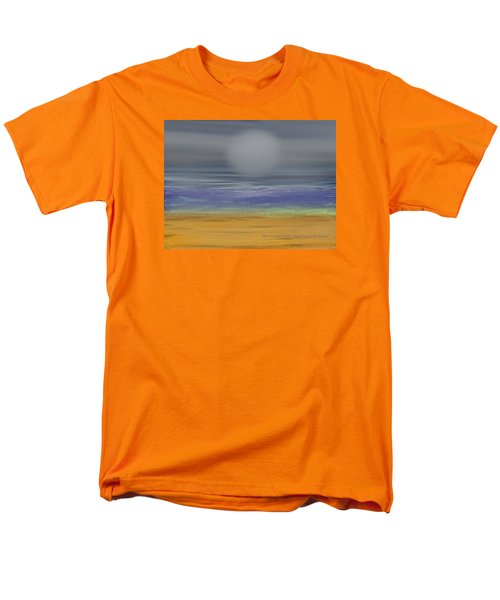 Night Fog On The Beach Men's T-Shirt  (Regular Fit) by Dr Loifer Vladimir