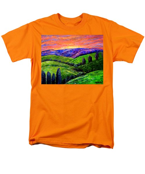 No Place Like The Hills Of Tennessee Men's T-Shirt  (Regular Fit) by Kimberlee Baxter