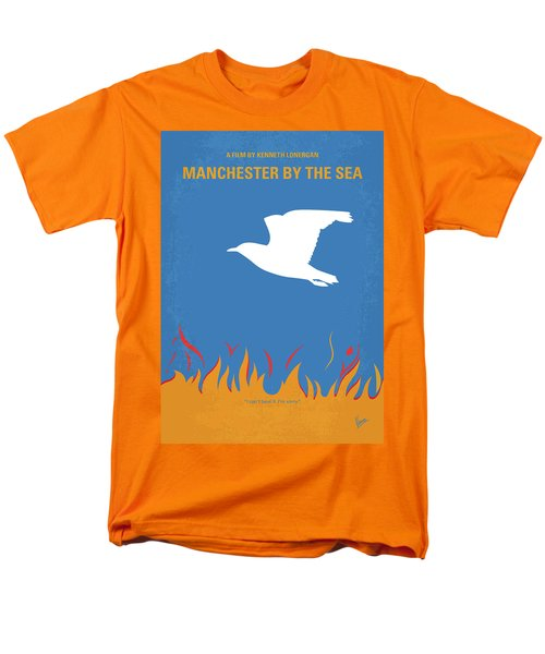 Men's T-Shirt  (Regular Fit) featuring the digital art No753 My Manchester By The Sea Minimal Movie Poster by Chungkong Art