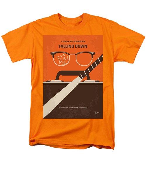 Men's T-Shirt  (Regular Fit) featuring the digital art No768 My Falling Down Minimal Movie Poster by Chungkong Art