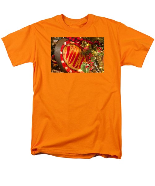 Men's T-Shirt  (Regular Fit) featuring the photograph Noel Sign by Vinnie Oakes