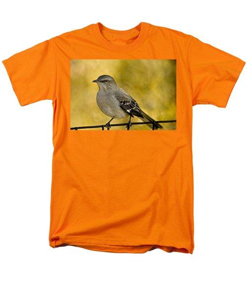 Northern Mockingbird Men's T-Shirt  (Regular Fit) by Chris Lord