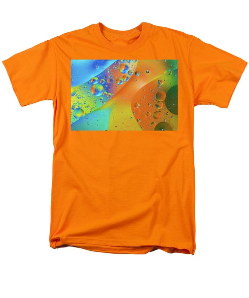 Oil And Water 10 Men's T-Shirt  (Regular Fit) by Jay Stockhaus