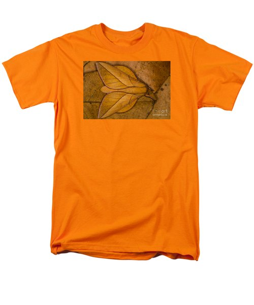Men's T-Shirt  (Regular Fit) featuring the photograph Oiticella Convergens Moth by Gabor Pozsgai