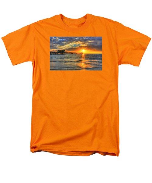 Men's T-Shirt  (Regular Fit) featuring the digital art On Fire by Sharon Batdorf
