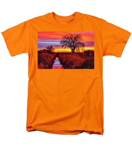 Men's T-Shirt  (Regular Fit) featuring the photograph On The Horizon by Greg Norrell