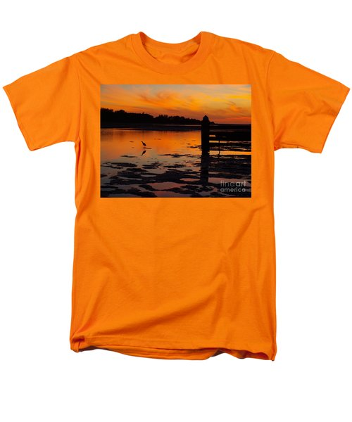 Men's T-Shirt  (Regular Fit) featuring the photograph One Bird by Trena Mara