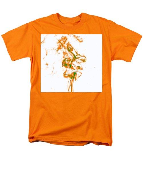 Orange And Green Men's T-Shirt  (Regular Fit) by Rainer Kersten