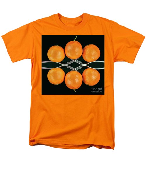 Orange Balance Men's T-Shirt  (Regular Fit)