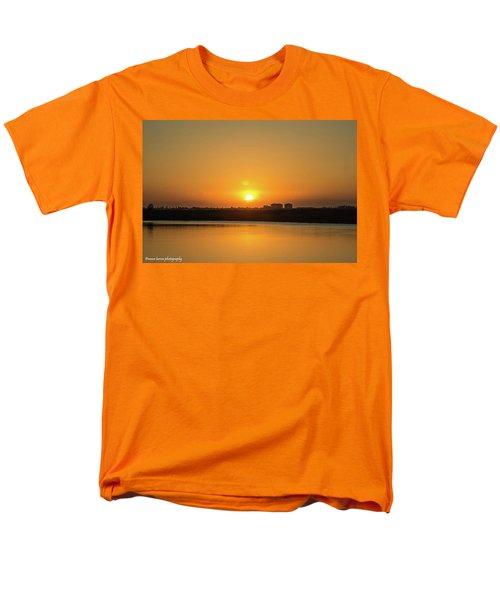 Orange Sunrise Men's T-Shirt  (Regular Fit) by Nance Larson