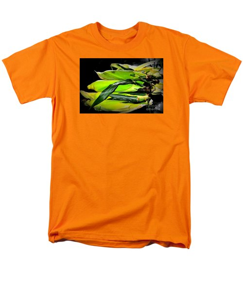 Men's T-Shirt  (Regular Fit) featuring the photograph Organic Corn 2 by Tanya Searcy