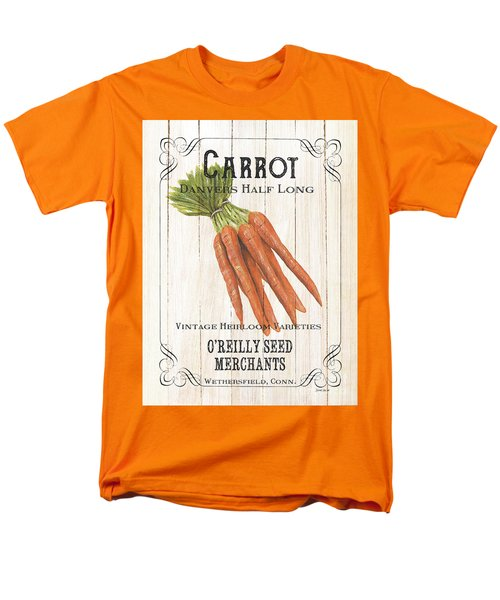 Organic Seed Packet 2 Men's T-Shirt  (Regular Fit) by Debbie DeWitt