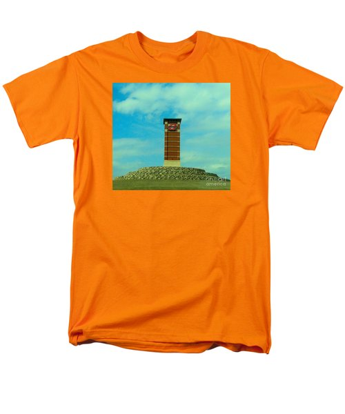 Oklahoma State University Gateway To Osu Tulsa Campus Men's T-Shirt  (Regular Fit) by Janette Boyd