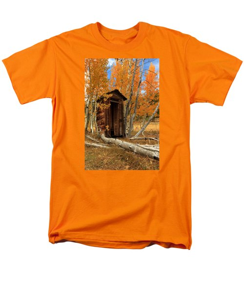Outhouse In The Aspens Men's T-Shirt  (Regular Fit) by James Eddy