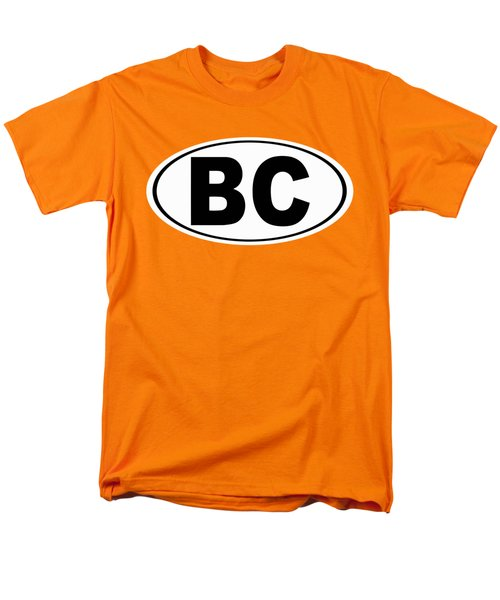 Men's T-Shirt  (Regular Fit) featuring the photograph Oval Bc Boulder City Colorado Home Pride by Keith Webber Jr
