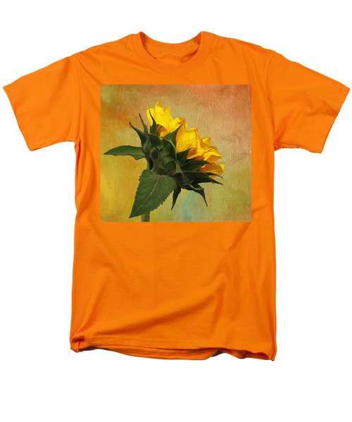 Painted Golden Beauty Men's T-Shirt  (Regular Fit) by Judy Vincent