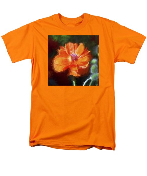 Painted Poppy Men's T-Shirt  (Regular Fit) by Christina Lihani