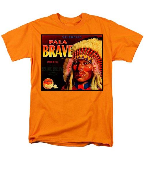 Pala Brave 1920s Sunkist Oranges Men's T-Shirt  (Regular Fit) by Peter Gumaer Ogden