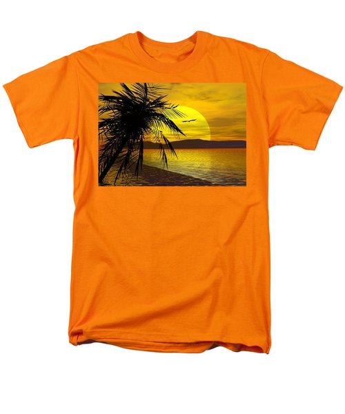 Palm Beach Men's T-Shirt  (Regular Fit) by Robert Orinski