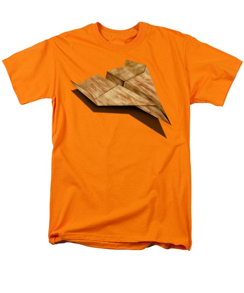 Paper Airplanes Of Wood 5 Men's T-Shirt  (Regular Fit) by YoPedro