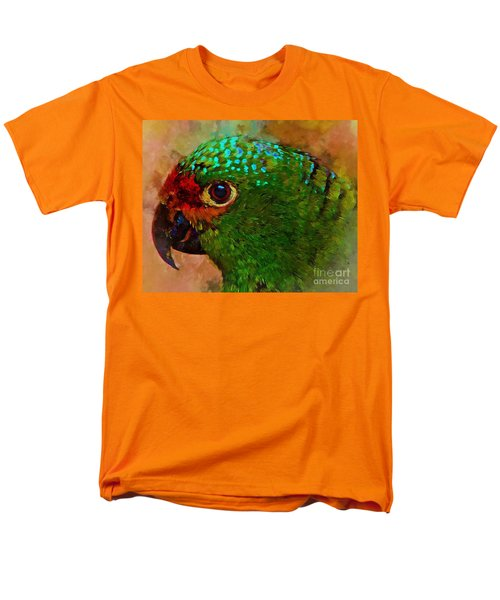 Parrote Men's T-Shirt  (Regular Fit) by John Kolenberg