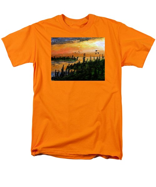 Passing The Rugged Shore Men's T-Shirt  (Regular Fit) by R Kyllo