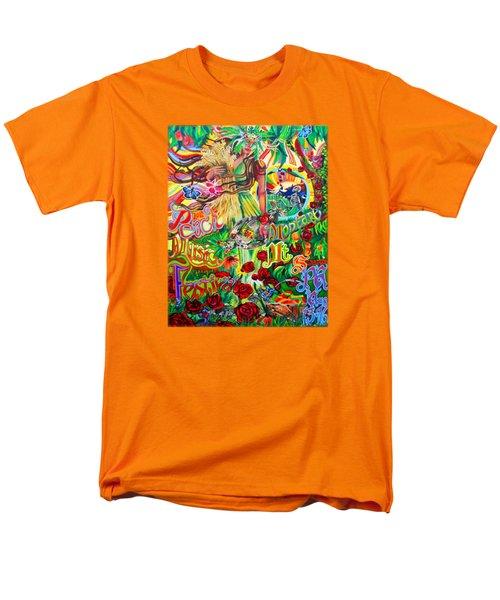 Peach Music Festival 2015 Men's T-Shirt  (Regular Fit) by Kevin J Cooper Artwork
