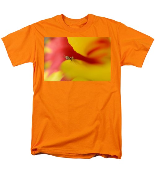 Peeking Men's T-Shirt  (Regular Fit) by Janet Rockburn