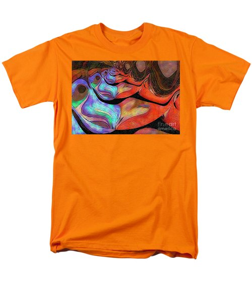 Men's T-Shirt  (Regular Fit) featuring the photograph Peeling Back The Layers by Kathie Chicoine