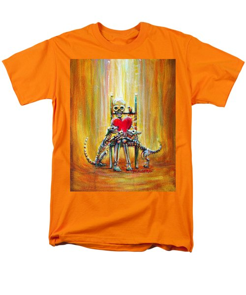 Men's T-Shirt  (Regular Fit) featuring the painting Pet Love by Heather Calderon