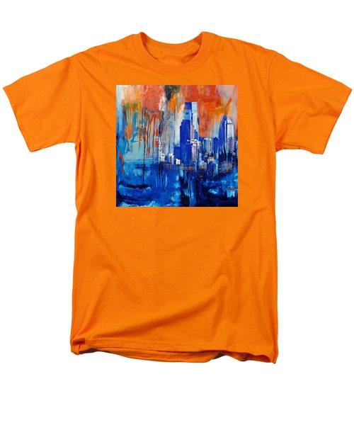 Philadelphia Skyline 227 1 Men's T-Shirt  (Regular Fit) by Mawra Tahreem