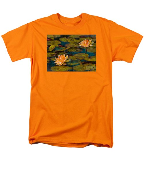 Picnic By The Pond Men's T-Shirt  (Regular Fit) by John  Kolenberg