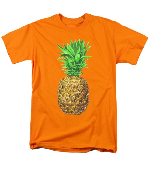Pineapple, Tropical Fruit Men's T-Shirt  (Regular Fit) by Katerina Kirilova