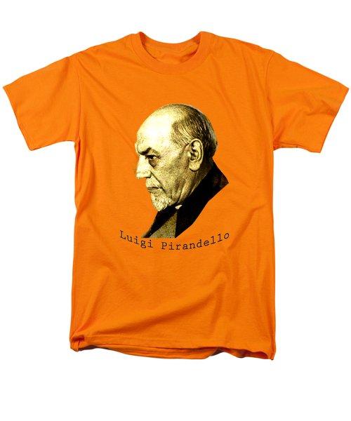 Pirandello Men's T-Shirt  (Regular Fit) by Asok Mukhopadhyay