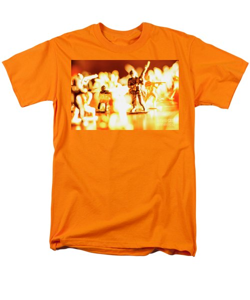 Men's T-Shirt  (Regular Fit) featuring the photograph Plastic Army Men 1 by Micah May