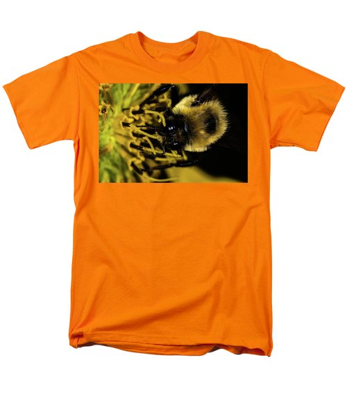 Men's T-Shirt  (Regular Fit) featuring the photograph Pollen Collector 2 by Jay Stockhaus