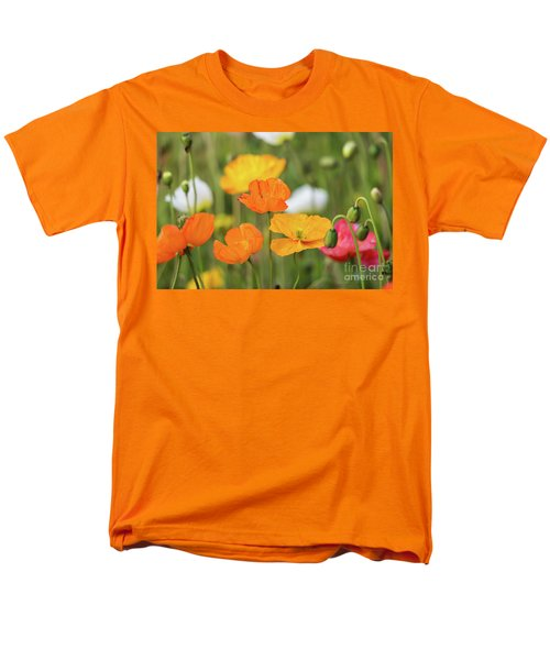Men's T-Shirt  (Regular Fit) featuring the photograph  Poppies 1 by Werner Padarin