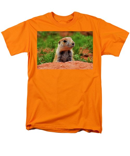 Prairie Dogs 007 Men's T-Shirt  (Regular Fit) by George Bostian