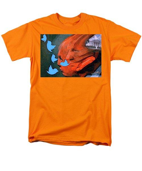 President Of Twitter Men's T-Shirt  (Regular Fit) by Ted Azriel