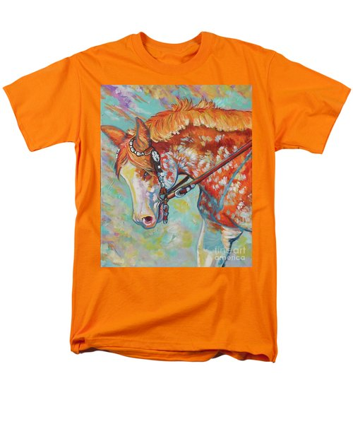Pretty Paint Men's T-Shirt  (Regular Fit) by Jenn Cunningham