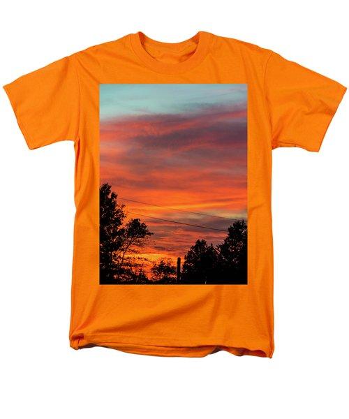 Princeton Junction Sunset Men's T-Shirt  (Regular Fit)
