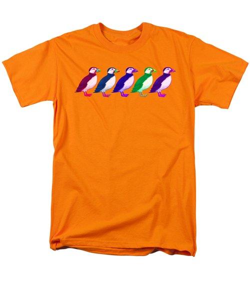 Puffins Apparel Design Men's T-Shirt  (Regular Fit) by Teresa Ascone