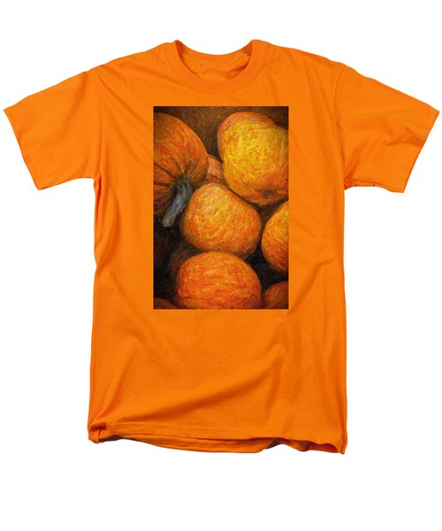 Men's T-Shirt  (Regular Fit) featuring the photograph Pumpkins In A Box by Tom Singleton