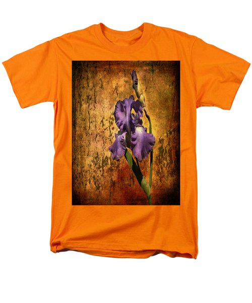 Purple Iris At Sunset Men's T-Shirt  (Regular Fit)